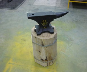 Making a Base for Your Anvil