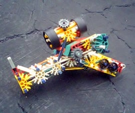 Knex R.C.P. Mk4 (Reversed Crossbow Pistol)