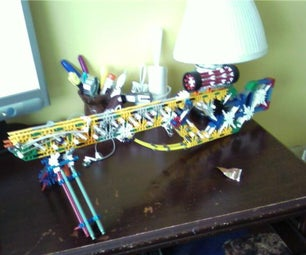 Some of My KNEX Weapons