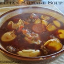 Italian Sausage and Tortellini Soup
