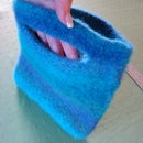 How to felt a knitted piece