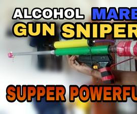 Homemade Alcohol Gun Sniper    How to Make Alcohol Gun Easy Method    Primitive Style