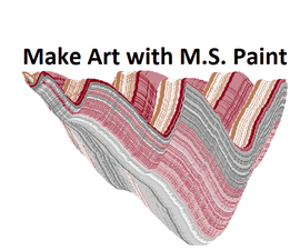 Advanced Microsoft Paint Technique.