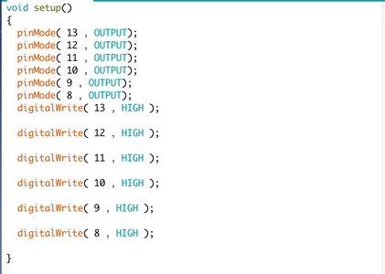 Copy the Code I Have Provided on the Arduino Program