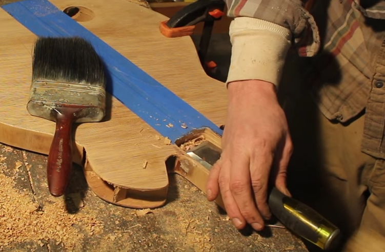 Picture of Creating a Neck Block