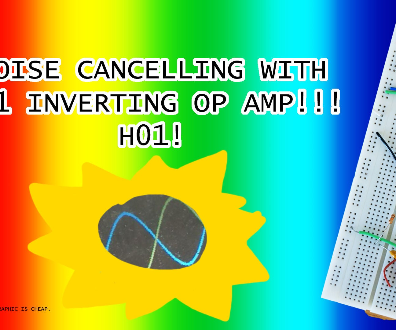 Noise Cancelling W 741 Inverting Op Amp 6 Steps Menu Amplifier Non