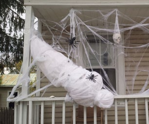 A Life-size Spider Victim