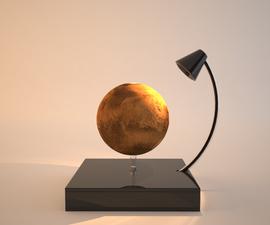 3D印刷火星复制品