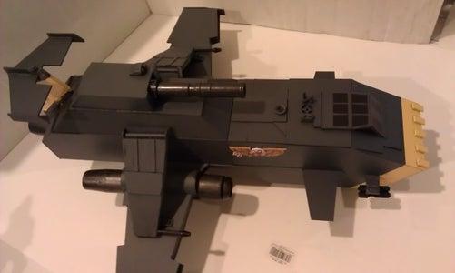 Thunderhawk Gunship Scratch-Built