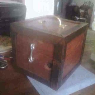Steampunk Box Lamp