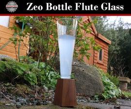 Zeo Bottle Flute Glass
