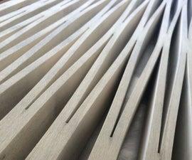 Kerf Cutting Timber