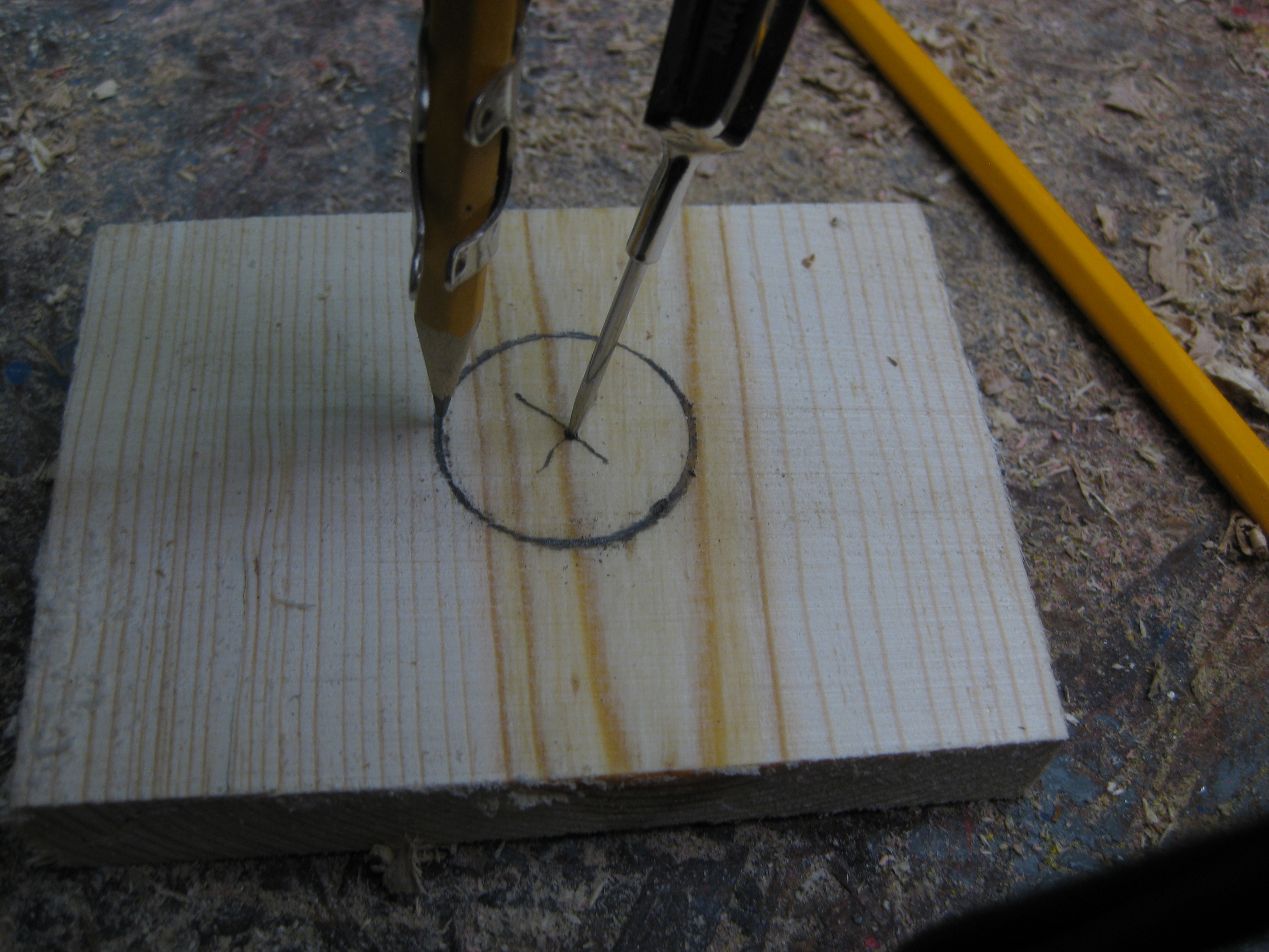 Picture of Lay Out & Drill Hole