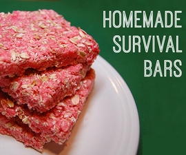 How to make your own homemade survival bars!