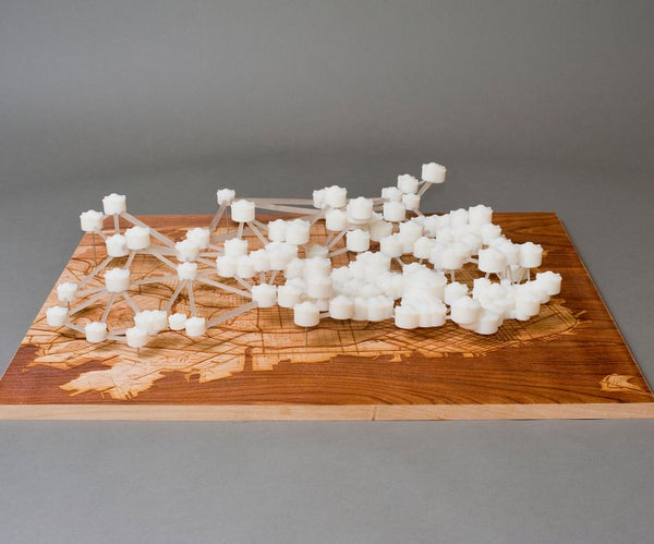 Water Works: 3D Prints of the San Francisco Water System With Map