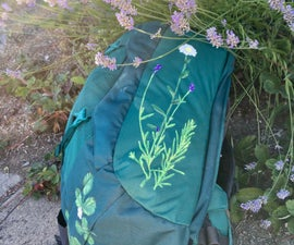 Painted Garden Backpack