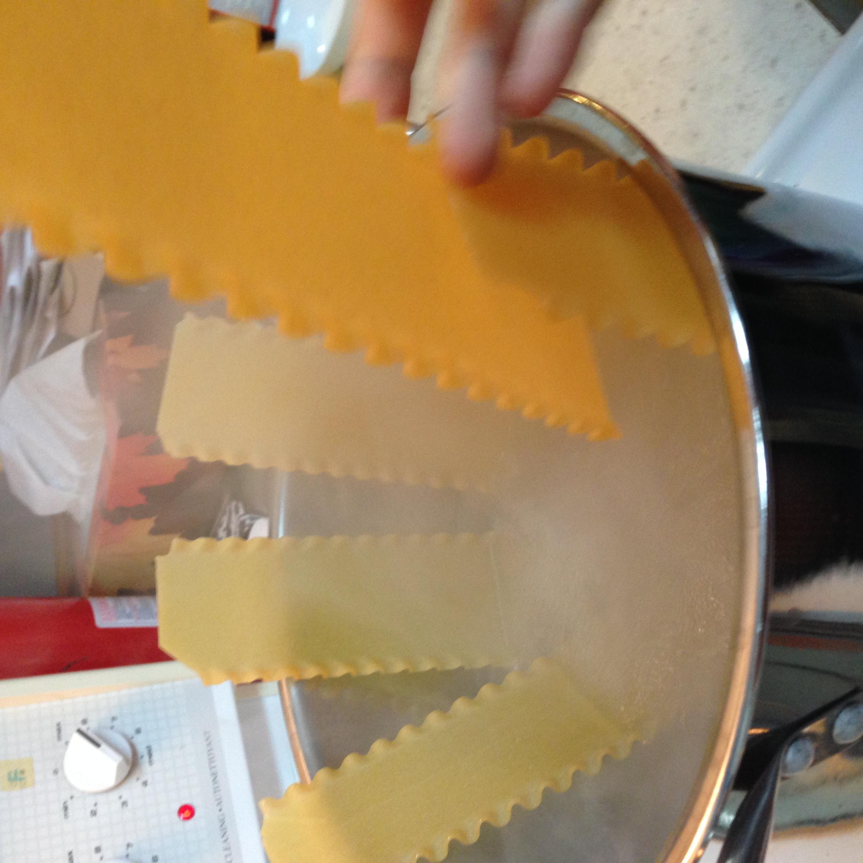 Picture of Préparer Les Nouilles Aux Lasagnes