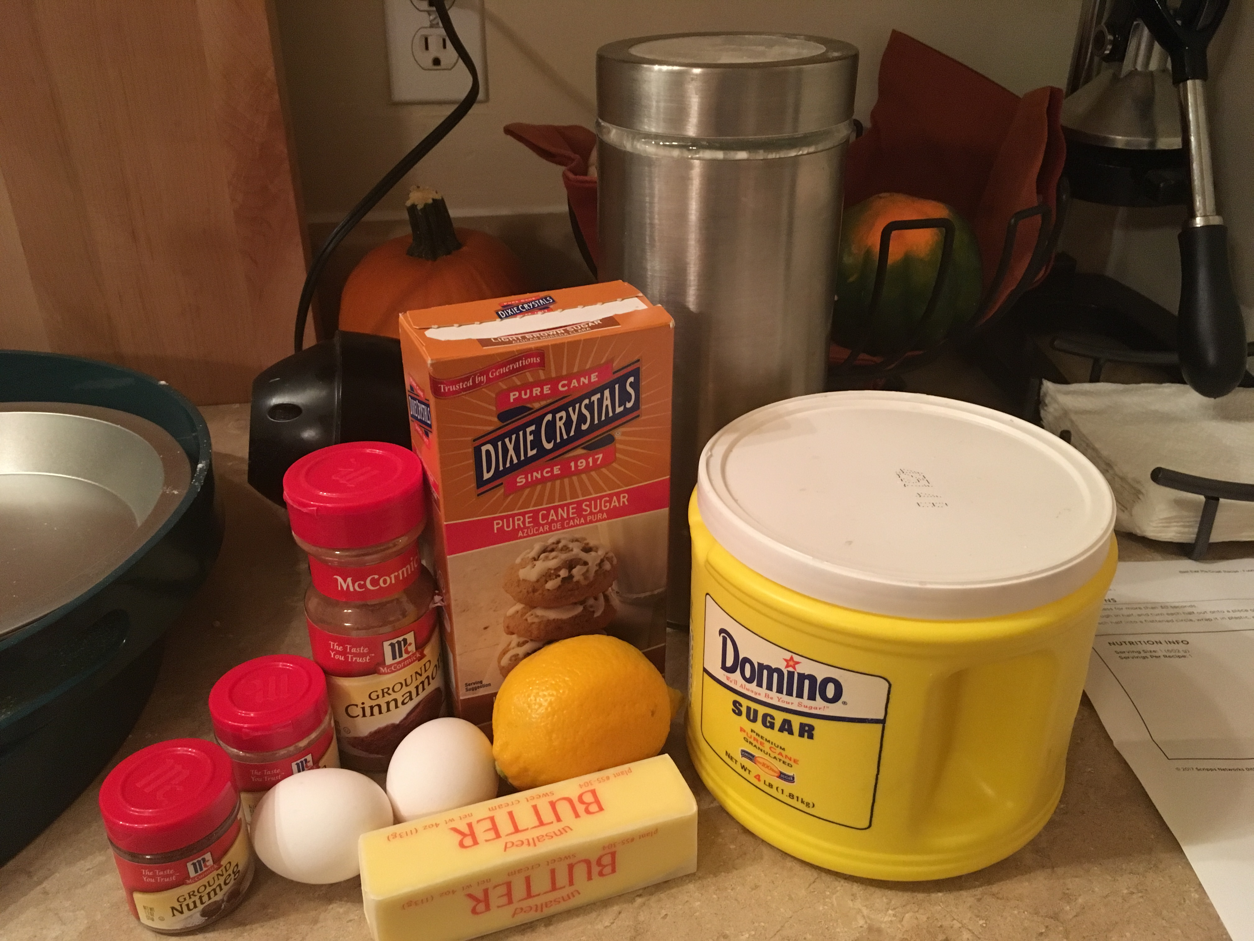 Picture of Ingredients: Filling