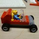 Simple off-road Lego car