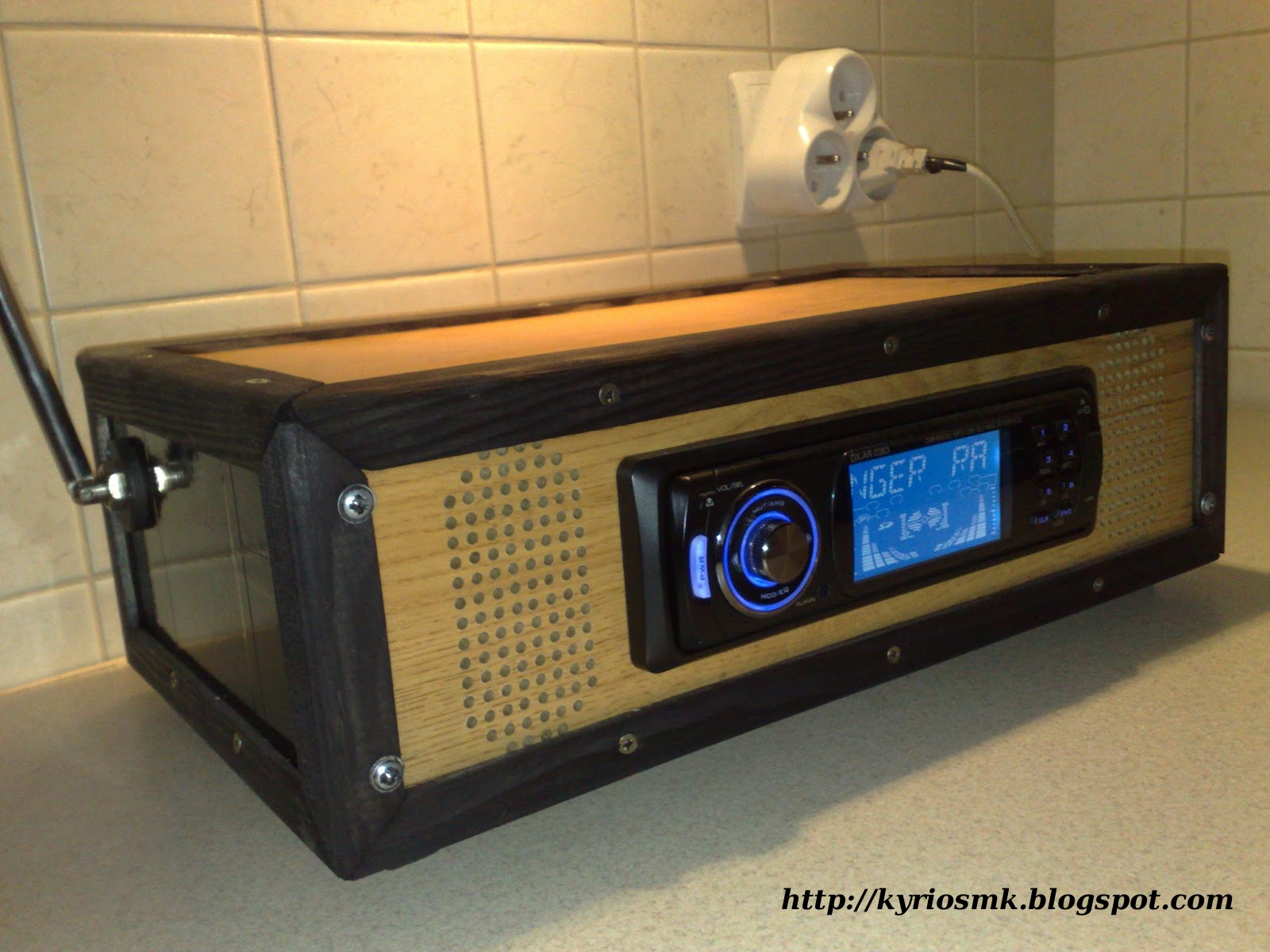 Picture of Car Radio at Home