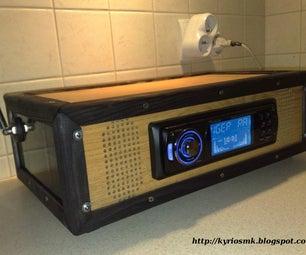 Car Radio at Home