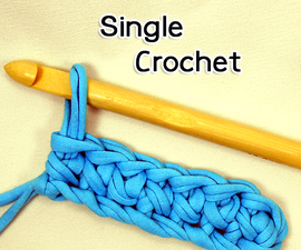 How to Crochet the Single Crochet Stitch