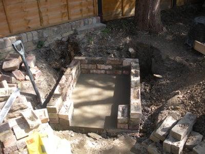 Build the Wood Storage Level