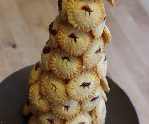 Raspberry Pi Pie Croquembouche