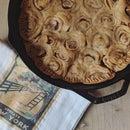 Apple Pie W/ Cinnamon Roll Crust