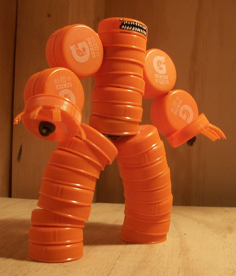 Picture of Assemblage Gatorade Figure Tutorial