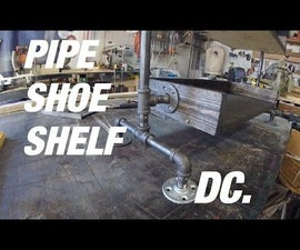 Plumbing Pipe/Wood shelf. (VIDEO)