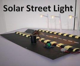 How to Make Simple and Low Cost Solar Street Lamp
