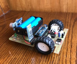 DIY Line Follower & Bluetooth Controlled Robot