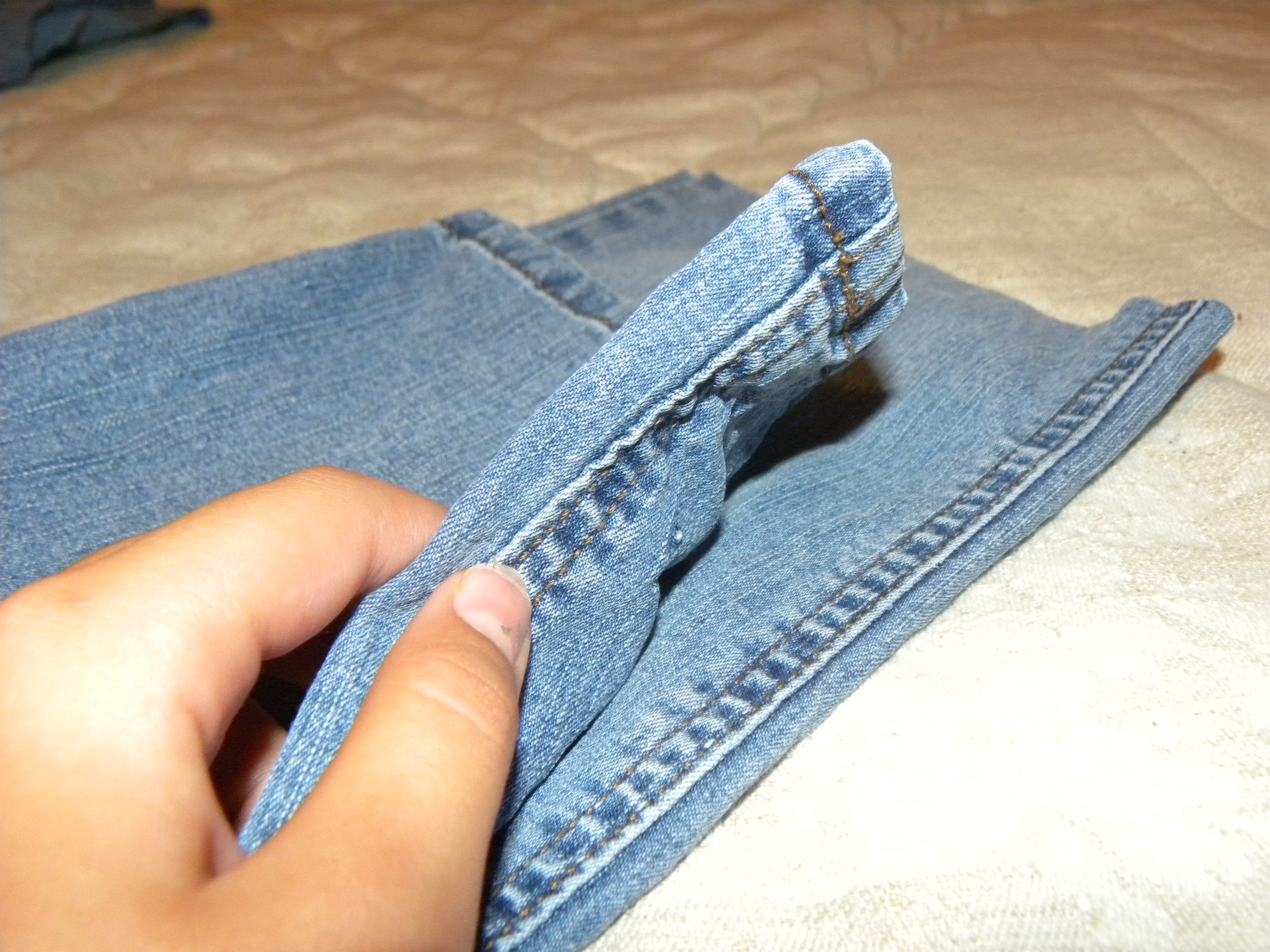 Picture of Making the Base of the Purse