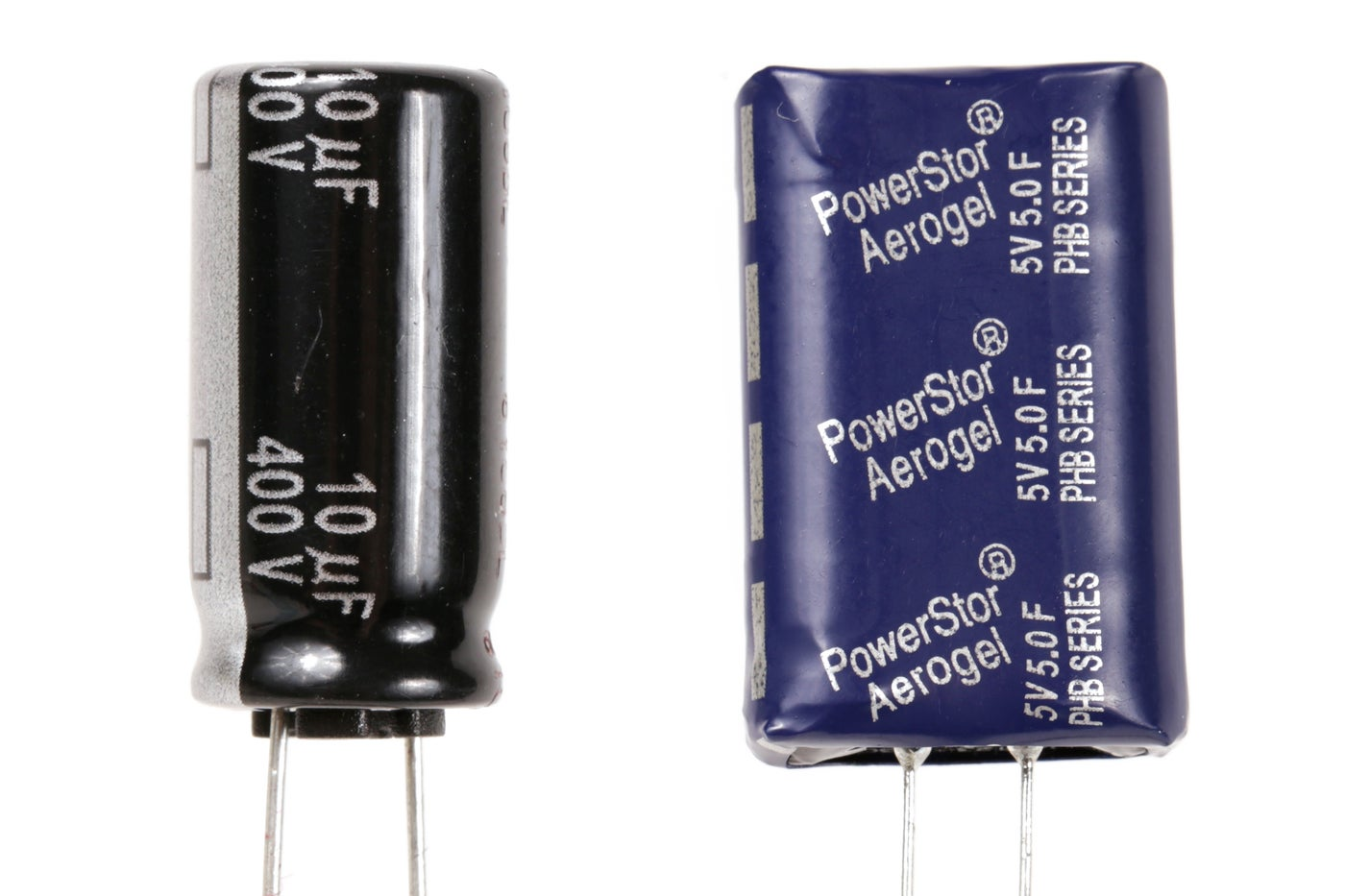 High Voltage Vs. Supercapacitor