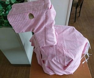 A Chair of Milk Cartons