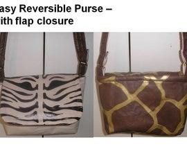 Sew Easy Purse - It's Reversible!