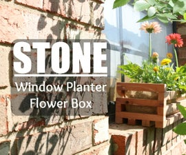 Window Planter Flower Box (free plans)