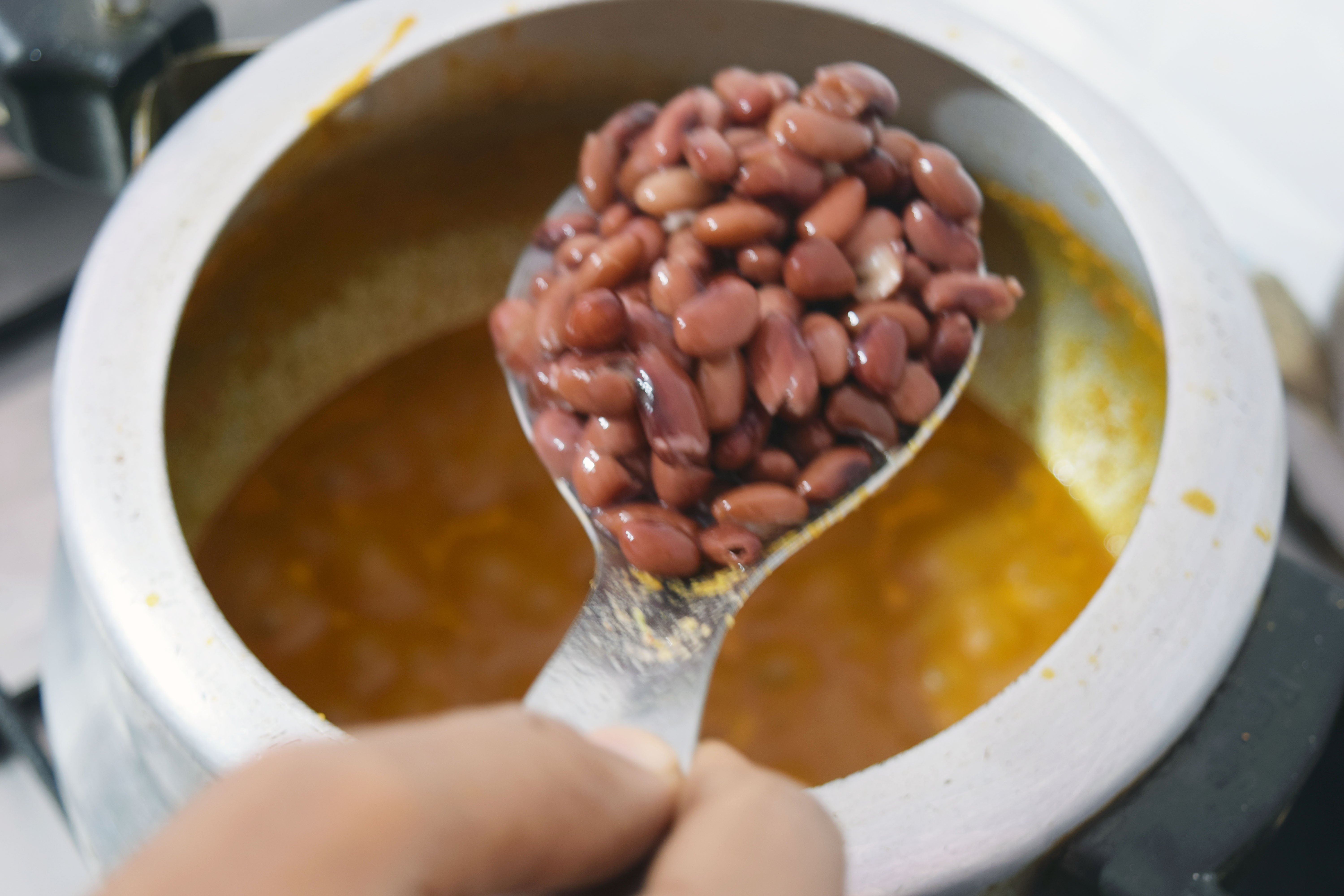 Picture of Rajma Goes In
