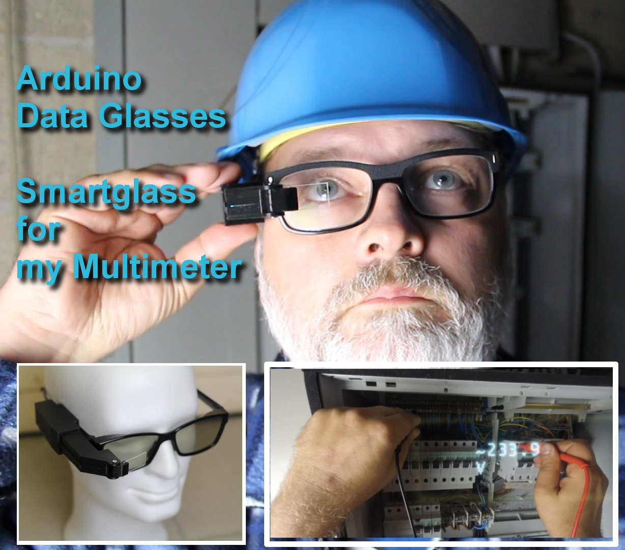Picture of Arduino Data Glasses for My Multimeter