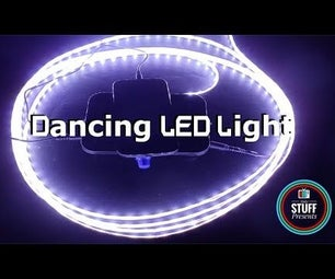 Music Reactive or Sound Activated LED Strip Lights