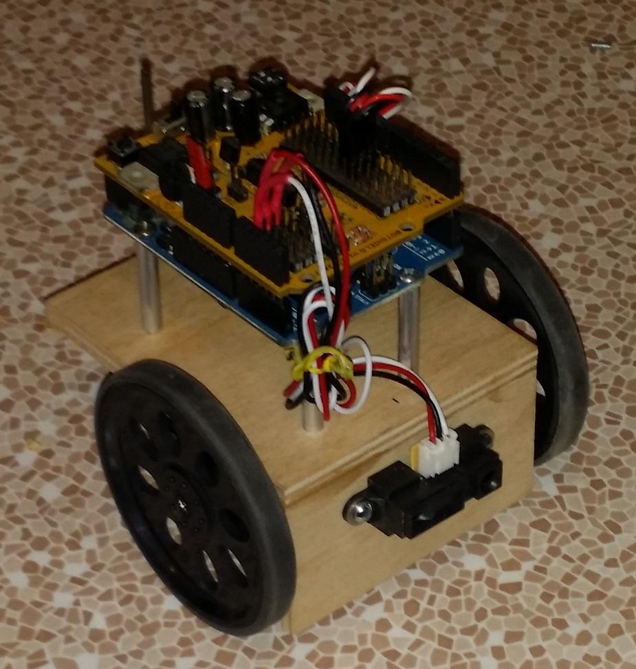 Picture of SUPER SIMPLE BEGINNERS ROBOT II (ARDUINO UNO VER.)