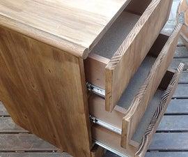 4-Drawer Storage Unit