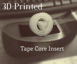 3D Printed Tape Dispenser Insert