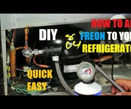 How to Add Freon To Your Refrigerator