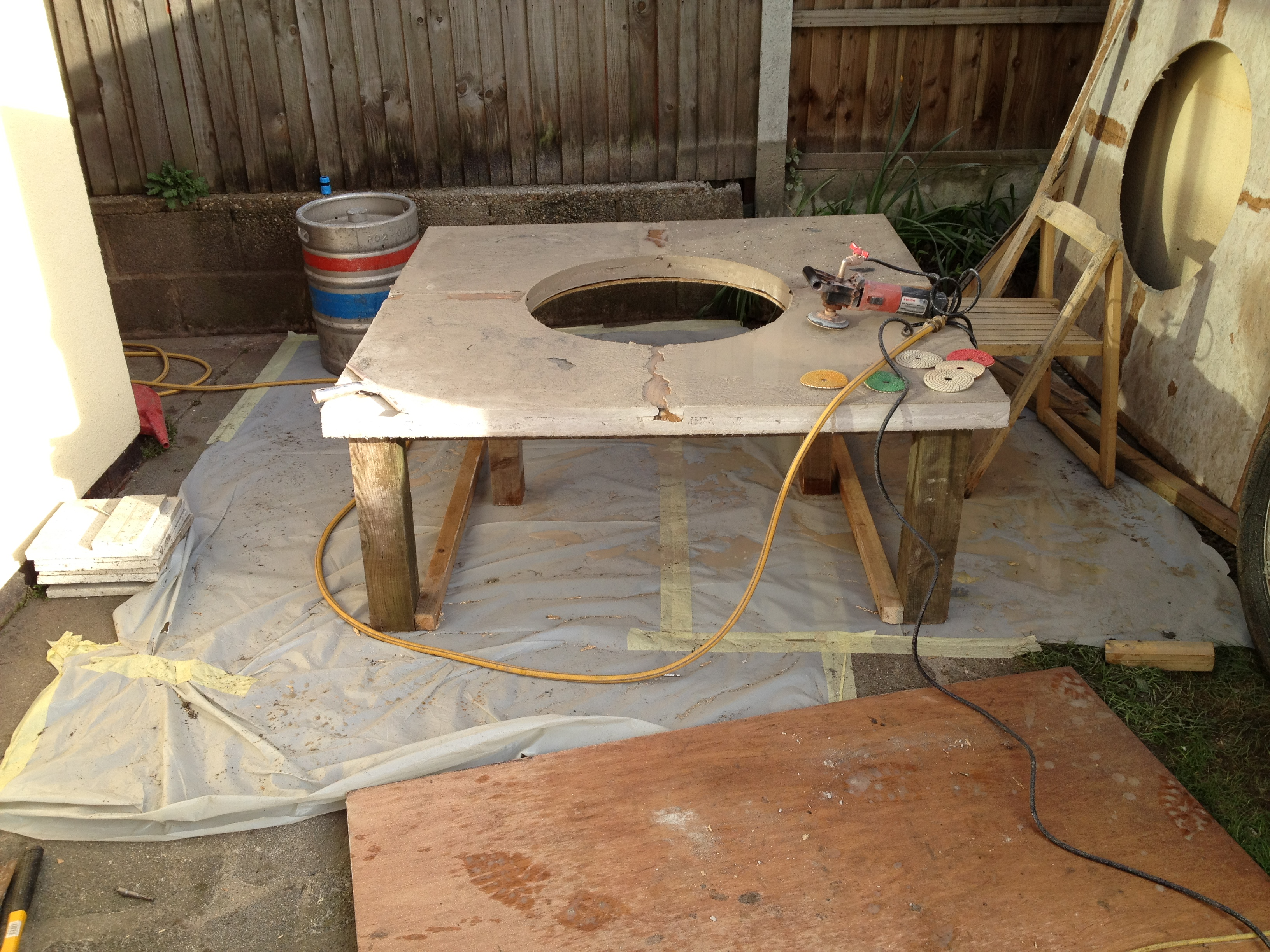 Picture of Pour Your Concrete, Leave a Week Then Get Polishing