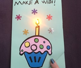 LET'S MAKE a PAPER CIRCUIT BIRTHDAY CARD