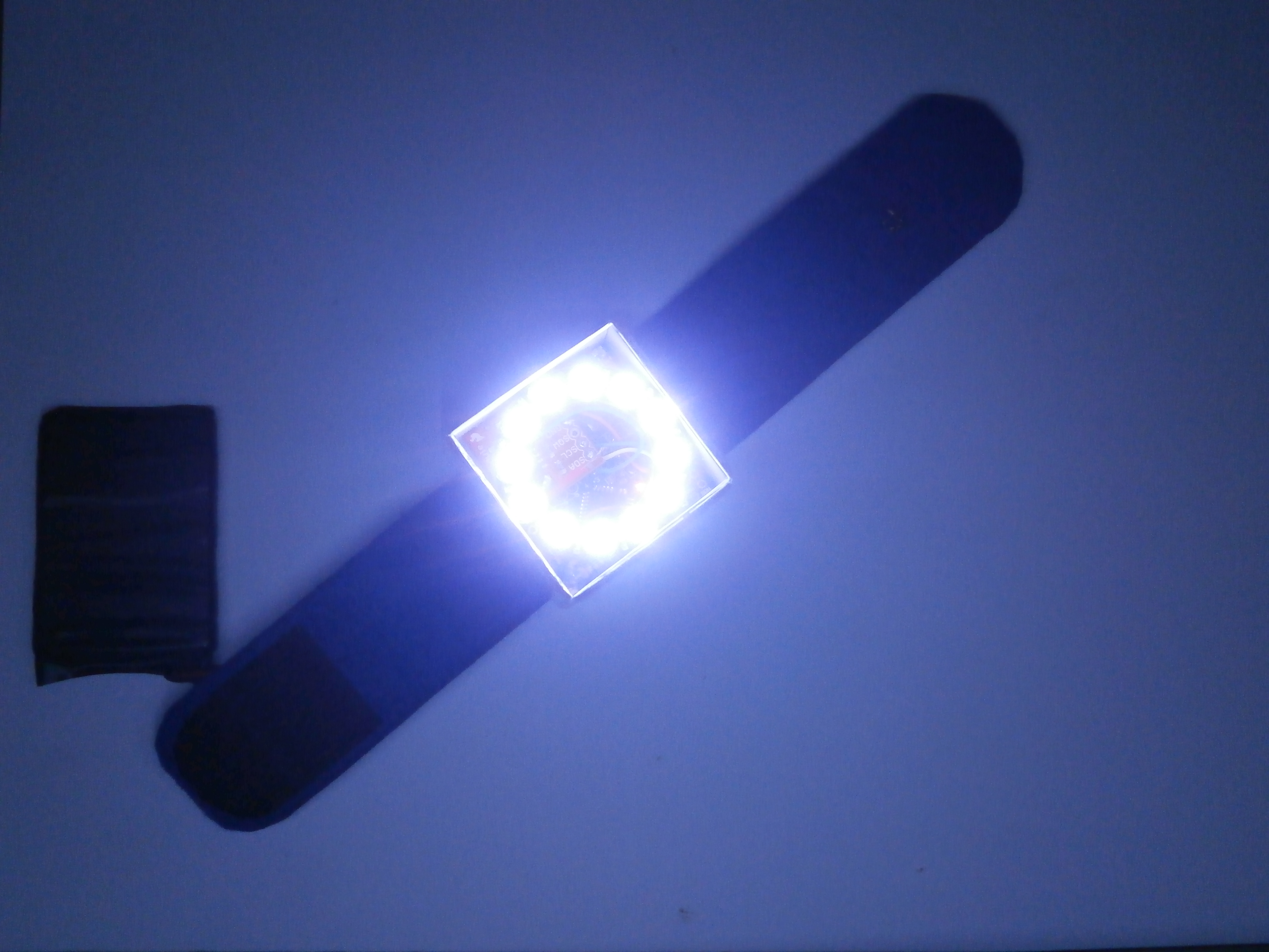 Picture of Pixie: an Arduino Based NeoPixel Wristwatch