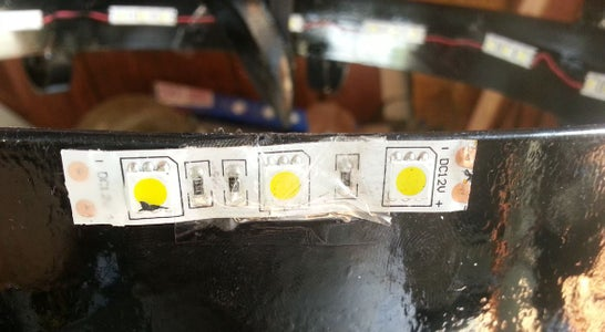 Secure LED Strips and Wires