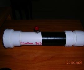 the pvc flashlight